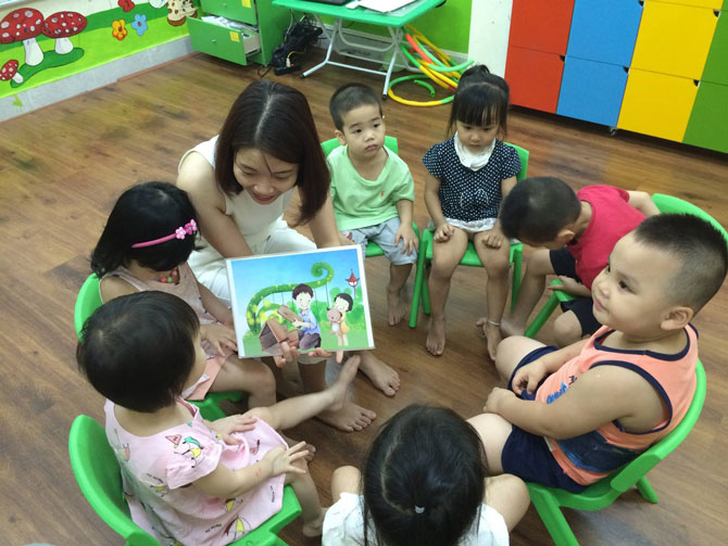 dạy tiếng anh giao tiếp cho trẻ em