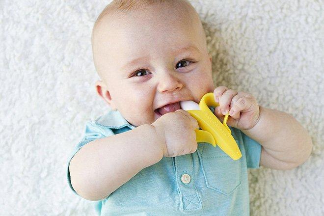 Giảm đau khi bé mọc răng hiệu quả