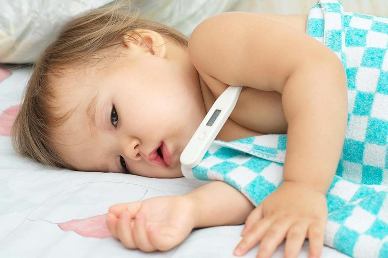 Co giật do sốt ở trẻ nhỏ
