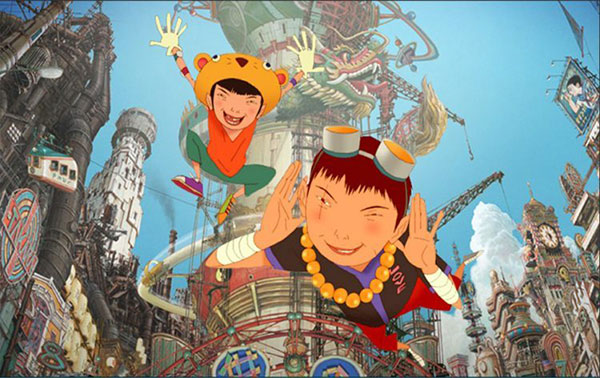 anime nhật bản - Tekkonkinkreet