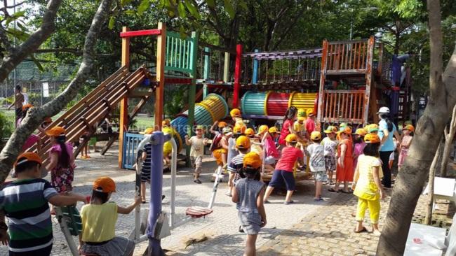 Tổng hợp khu vui chơi trẻ em quận 4   Khu vui chơi trẻ em