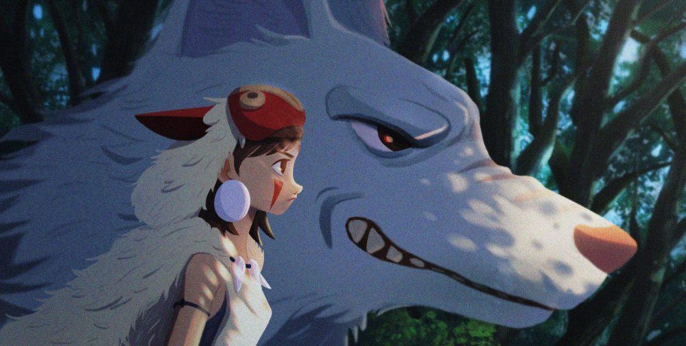 Những bộ phim hoạt hình anime Nhật Bản hay nhất: Công chúa sói