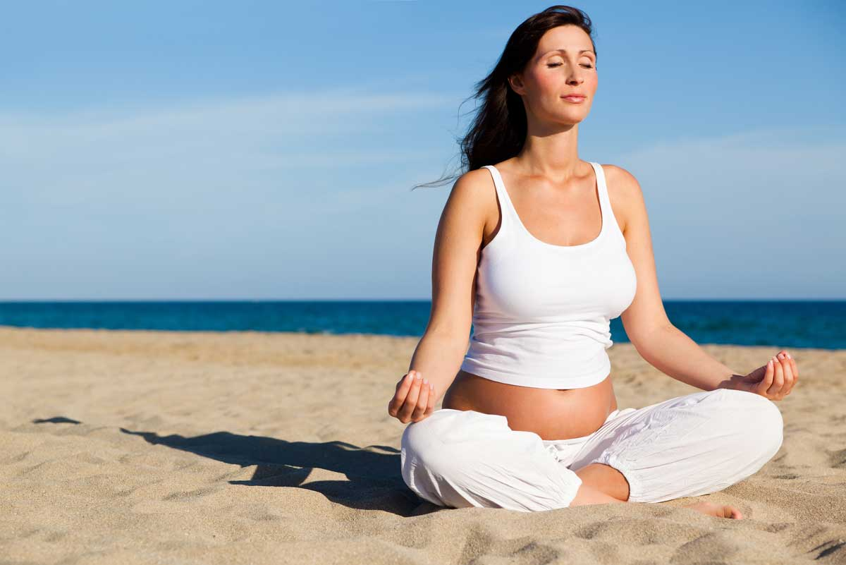 Bài tập Yoga cho bà bầu đơn giản tại nhà - mẹ đẹp, con khỏe